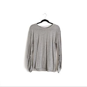 Free People Movement Long Sleeve Grey Size Small